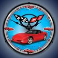 C5 History Corvette Clock