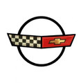 C4 Corvette Metal Sign