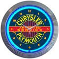 Chrysler Neon Clock
