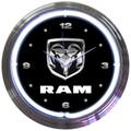 Dodge Ram Neon Clock