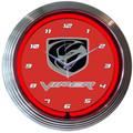Dodge Viper Neon Clock