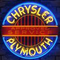 Chrysler Plymouth Neon Sign
