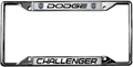 Dodge Challenger License Frame