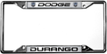 Dodge Durango License Frame