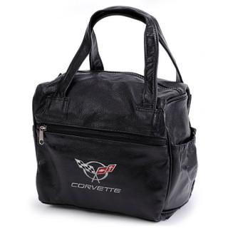 C5 Corvette Leather Travel Bag
