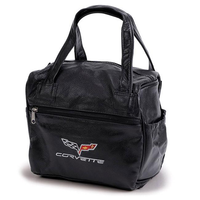 834a2355e1 C6 Corvette Black Leather Organizer Bag