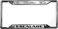 Cadillac Escalade License Frame