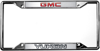 GMC Yukon License Frame