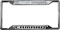 Camaro Super Sport License Frame
