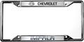 Chevy Impala License Frame