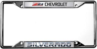 Chevy Silverado Z71 License Frame