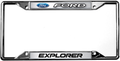 Ford Explorer License Frame