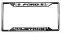 Mustang Tri-Bar License Frame