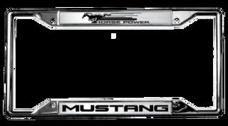 Mustang License Frame