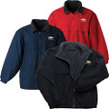 Chevy Bowtie Fleece jacket in Black, Navy or Red