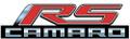 Camaro RS Metal Sign