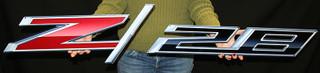 2014 - Camaro Z/28 Metal Sign