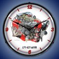 L71 427 V8 Engine Clock