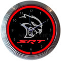 Dodge SRT Hellcat Clock