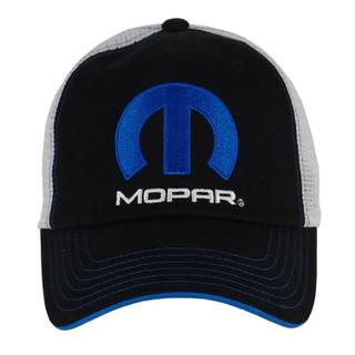 Mopar Black/White Mesh Hat