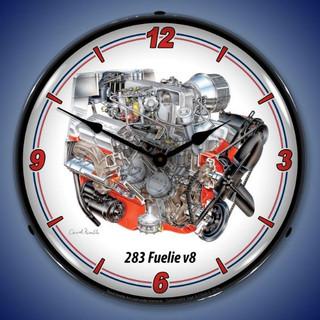 GM 283 Fuelie V8 Clock