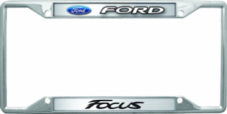 Ford Focus License Frame