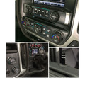 Sierra/Silverado Interior Knob Kit - Gloss Black inside