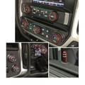 Sierra/Silverado Interior Knob Kit - Deep Ruby inside