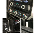 Sierra/Silverado Interior Knob Kit - White Diamond inside