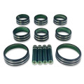 Sierra/Silverado Interior Knob Kit - Rain Forest Green