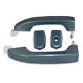 Silverado/Sierra Blue Granite Door Handles front
