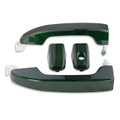 Silverado/Sierra Rainforest Green Door Handles front