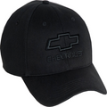 Chevy Tonal Black Hat
