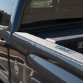 Sierra Billet Blue Granite Bed Rail Letters on Truck