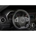 Camaro Billet Interior Knob Kit - Black inside