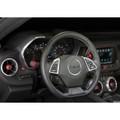 Camaro Billet Interior Knob Kit - Garnet Red inside