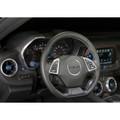 Camaro Billet Interior Knob Kit - Hyper Blue inside
