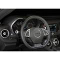 Camaro Billet Interior Knob Kit - Summit White inside