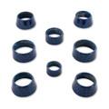 Camaro Billet Interior Knob Kit - CF Hyper Blue