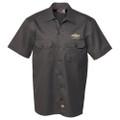 Chevy Bowtie Dickies Gray Work Shirt