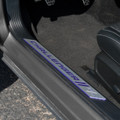 Dodge Challenger Door Sills - Crazy Plum on car