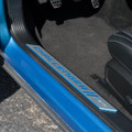 Dodge Challenger Door Sills -  B5 Blue/Surf Blue on car