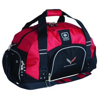 C7 Corvette Stingray Red Duffle Bag