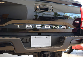 Toyota Tacoma Chrome Tailgate Letters (alt- chrome letters)