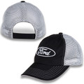 Ford Oval Black/Gray Mesh Hat