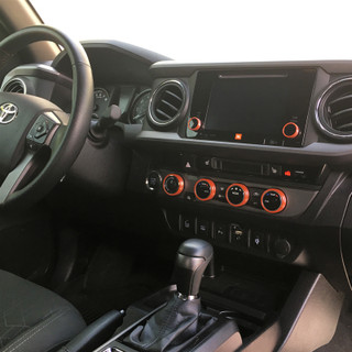 Toyota Tacoma Billet Interior Knob Kit - on truck