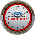 Ford PSD Neon Clock