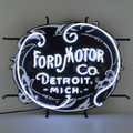 Ford Mo Co Heritage Neon Sign