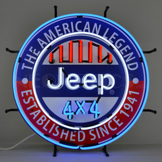 Jeep The American Legend Neon Sign