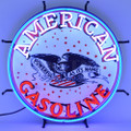 American Gasoline Neon Sign